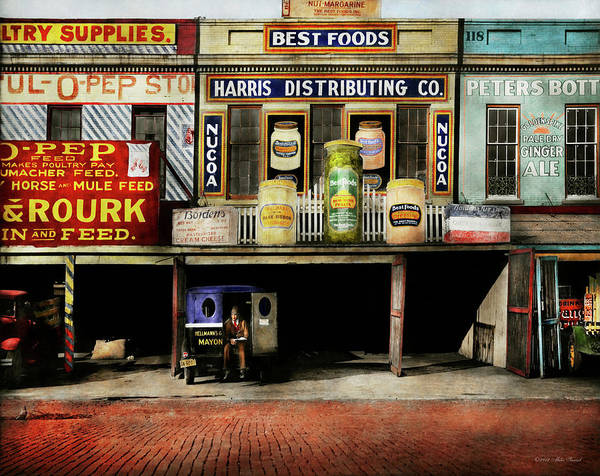 Photograph - Americana - Signs - Feeding Time 1936 by Mike Savad