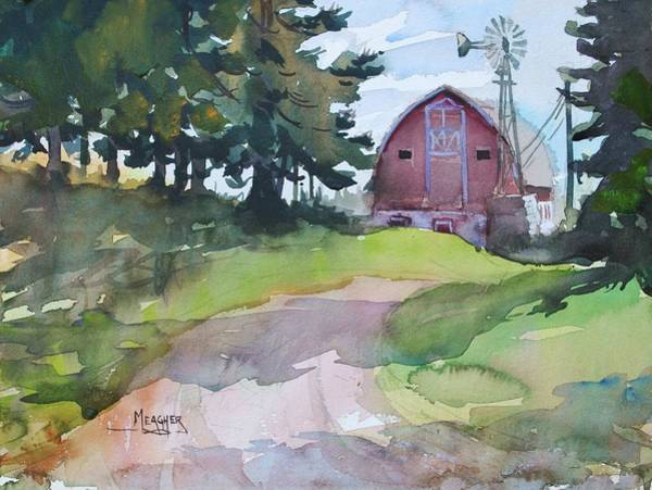 Lake Superior Painting - Americana by Spencer Meagher