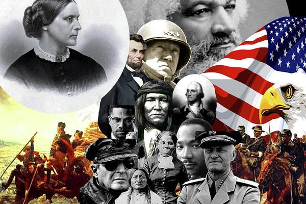 Wall Art - Digital Art - America's Brave by Art By ONYX