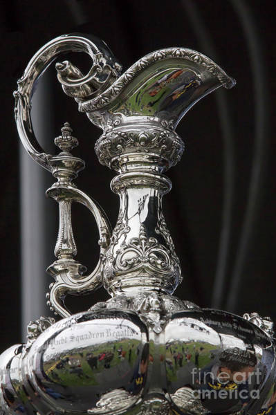 Artemis Photograph - America's Cup Close Up by Chuck Kuhn