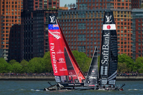 Photograph - America's Cup World Series New York by Susan Candelario