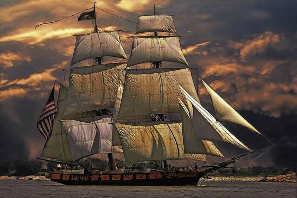 America's Ship Art Print