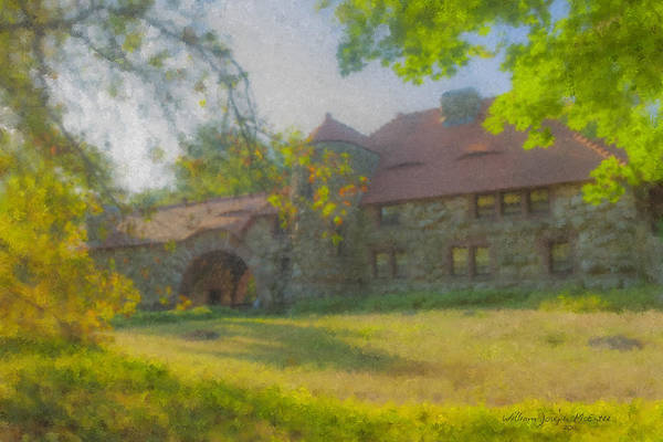 Painting - Ames Gatelodge In Golden Light by Bill McEntee