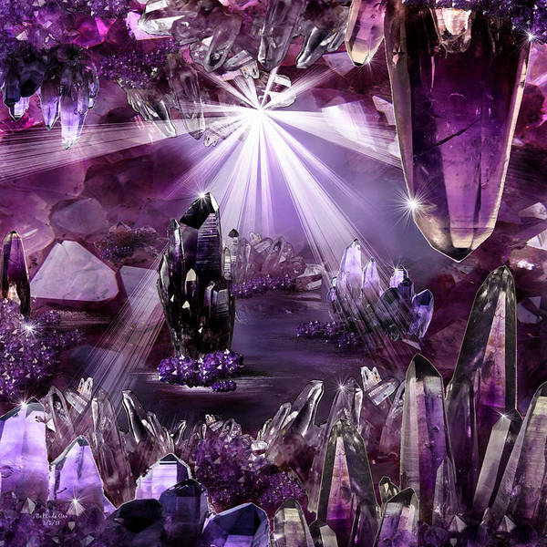 Amethyst Dreams Art Print