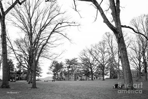 Photograph - Amherst College Main Quadrangle by University Icons