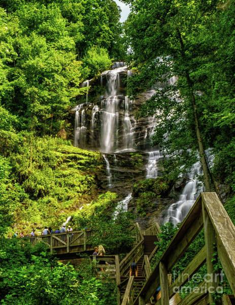 Photograph - Amicalola Falls by Nick Zelinsky