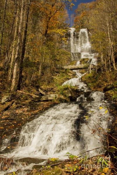 Photograph - Amicola Falls Gushing by Barbara Bowen