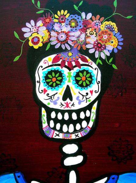 Painting - Amiga Frida by Pristine Cartera Turkus
