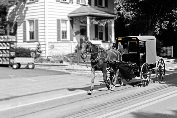 Photograph - Amish Country Series 4064 by Carlos Diaz