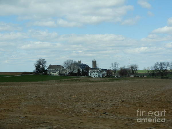 Photograph - Amish Farm In April by Christine Clark