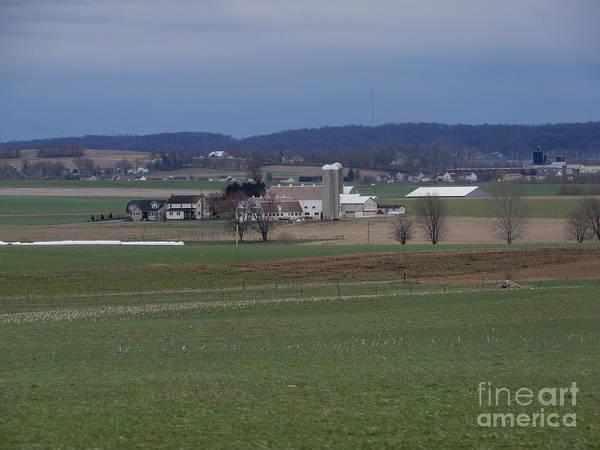 Amish Homestead 125 Art Print