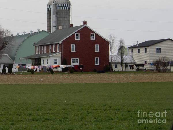 Amish Homestead 7 Art Print