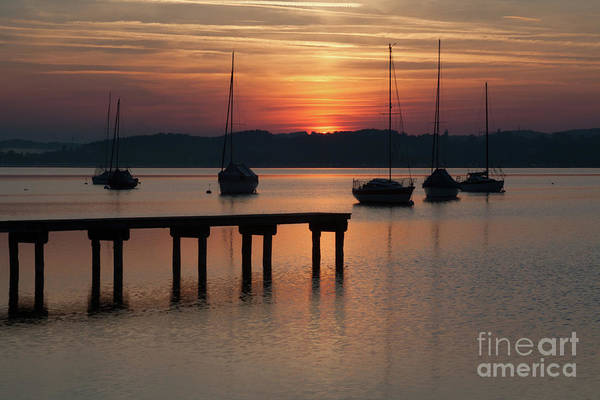 German Photograph - Ammersee, Germany by Smart Aviation