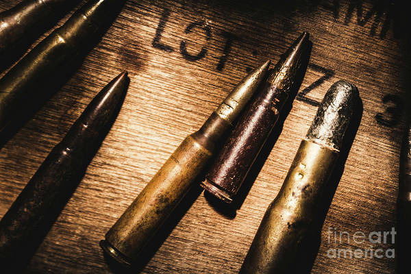 Warfare Wall Art - Photograph - Ammo Supplies by Jorgo Photography - Wall Art Gallery