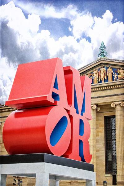 Photograph - Amor At The Art Museum by Alice Gipson
