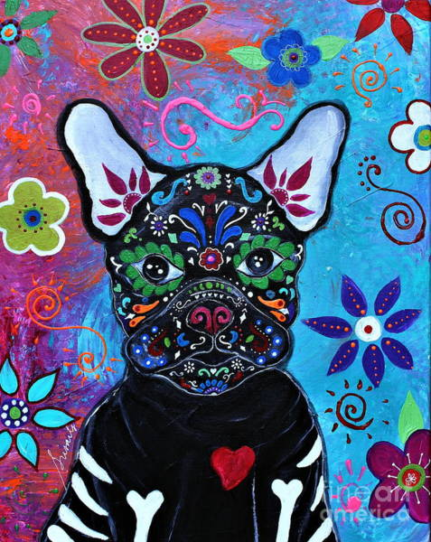 Painting - Amor Mi De Vida by Pristine Cartera Turkus