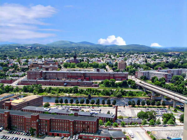 Photograph - Amoskeag Manufacturing Mills by Anthony Dezenzio