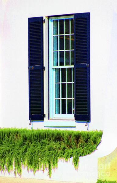 Photograph - Amped-up Window by Karen Adams