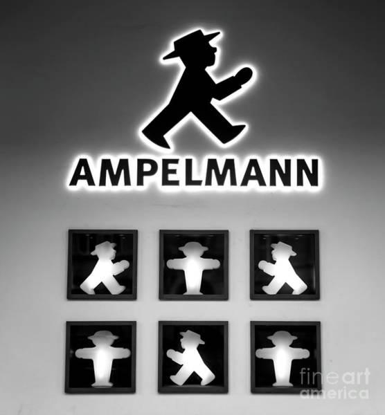 Wall Art - Photograph - Berlin Ampelmann by John Rizzuto