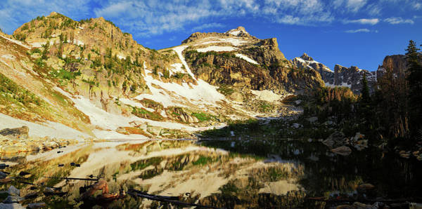 Photograph - Amphitheater Lake Panorama by Greg Norrell