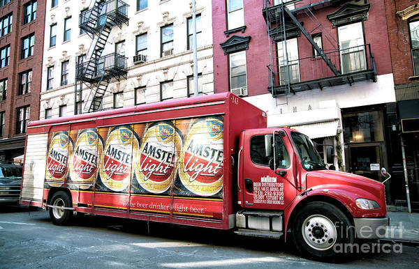 Photograph - Amstel In The Bowery by John Rizzuto