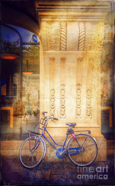 Photograph - Amsterdam Apple Bike by Craig J Satterlee