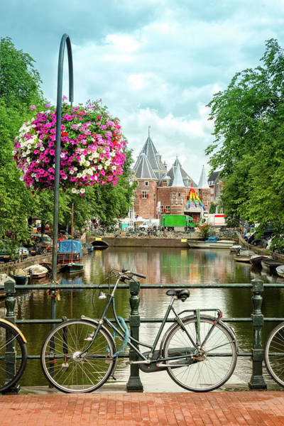Photograph - Amsterdam Bike by Mihai Andritoiu
