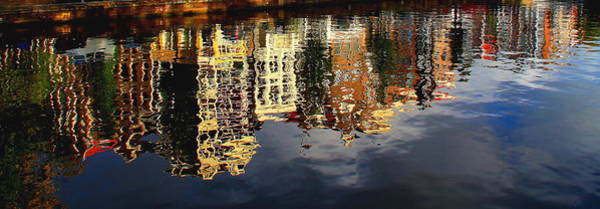 Photograph - Amsterdam Canal Reflection by Pat Moore