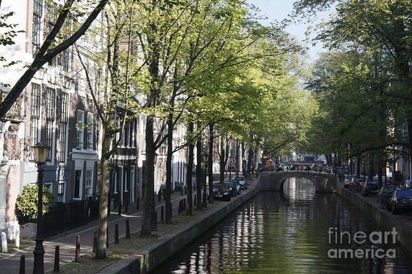 Photograph - Amsterdam Canal by Wilko Van de Kamp