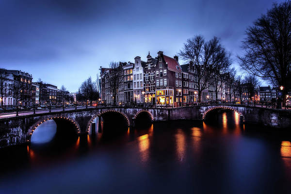 Holland Wall Art - Photograph - Amsterdam by Jorge Maia
