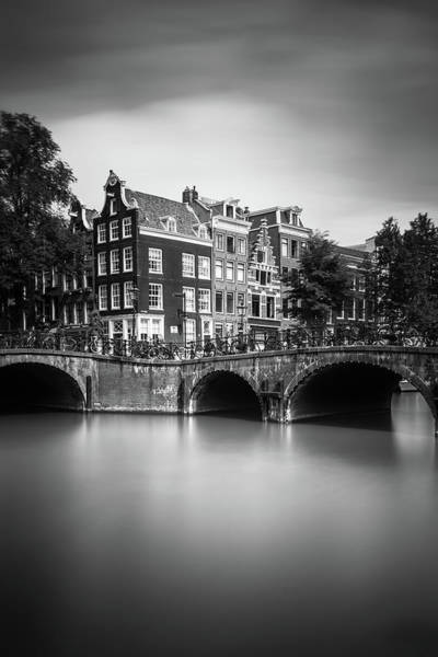 Holland Photograph - Amsterdam, Leliegracht by Ivo Kerssemakers
