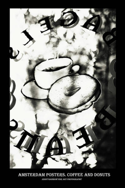 Wall Art - Photograph - Amsterdam Posters. Coffee And Dontas by Jenny Rainbow