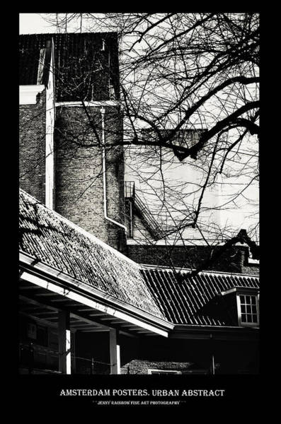 Wall Art - Photograph - Amsterdam Posters. Urban Abstract by Jenny Rainbow