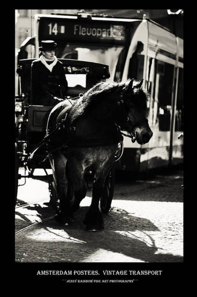 Wall Art - Photograph - Amsterdam Posters. Vintage Transport by Jenny Rainbow