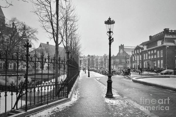 Photograph - Amsterdam Sidewalk Perspective  by Carol Groenen