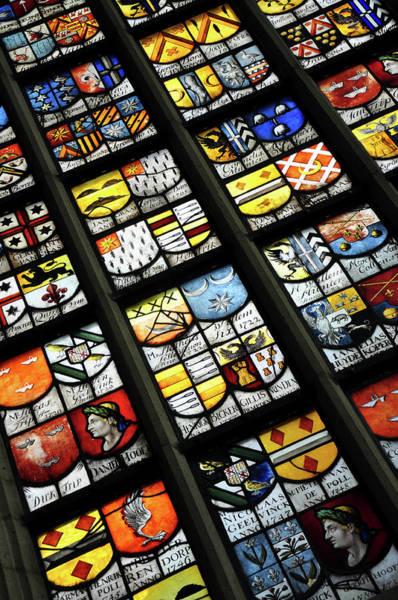 Vitrage Wall Art - Photograph - Amsterdam Windows by Anton Frolov