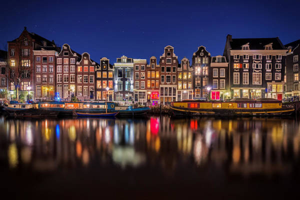 Holland Wall Art - Photograph - Amsterdamn by Martin Podt
