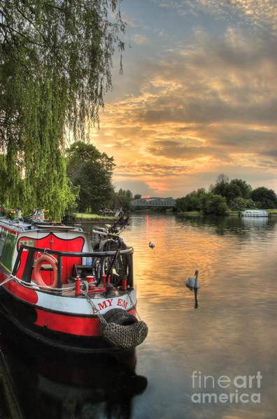 Swan Boats Photograph - Amy Em by Martin Williams