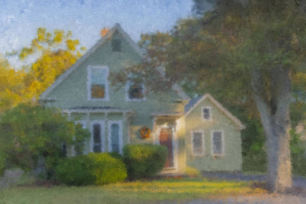 Painting - Amy's House by Bill McEntee