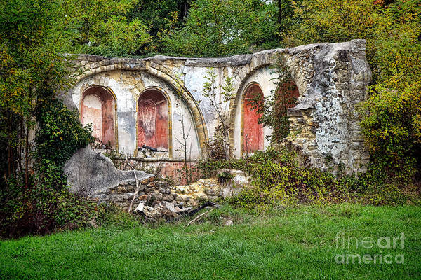 Edifice Photograph - An Abandoned Chapel In France  by Olivier Le Queinec