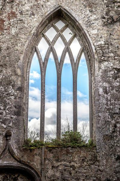 Killarney Photograph - An Abbey Window by W Chris Fooshee