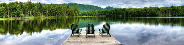 Photograph - An Adirondack Panorama by David Patterson