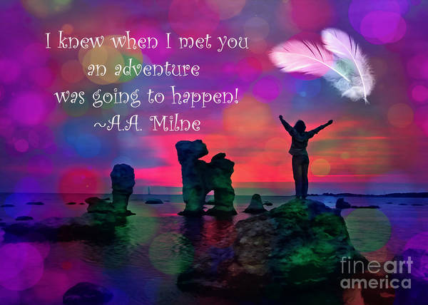 Digital Art - An Adventure 2016 by Kathryn Strick