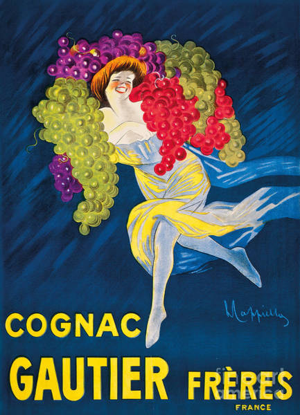 Wall Art - Painting - An Advertising Poster For Gautier Freres Cognac, 1907 by Leonetto Cappiello