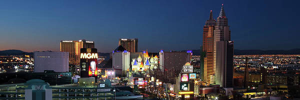 Wall Art - Photograph - An Aerial View Of The Las Vegas Strip Looking South by Derrick Neill