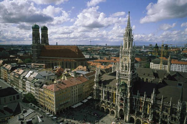 Glockenspiel Photograph - An Aerial View Of The by National Geographic