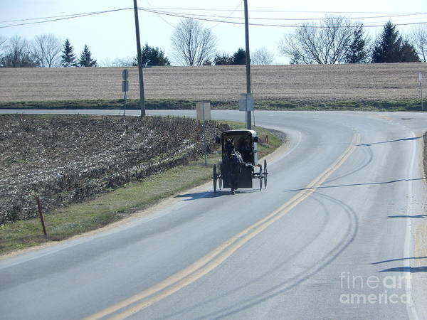 An Afternoon Buggy Ride Art Print