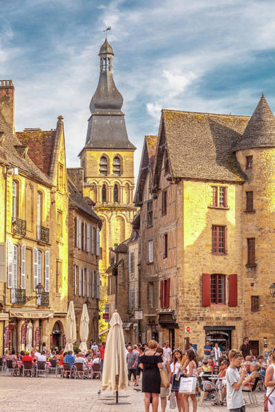 Wall Art - Photograph - An Afternoon In Sarlat-la-caneda by W Chris Fooshee