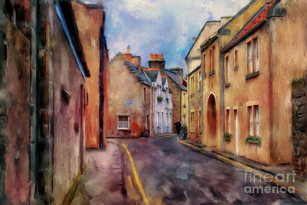 Digital Art - An Afternoon In St Andrews by Lois Bryan