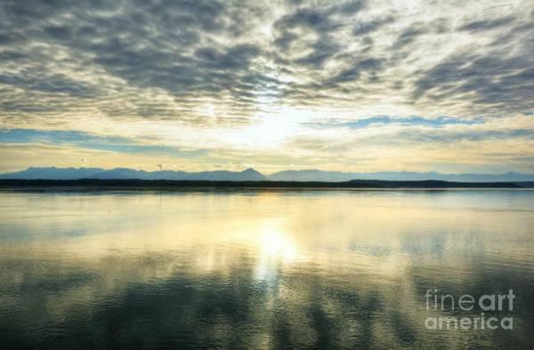 Photograph - An Alaskan Sunrise by Mel Steinhauer